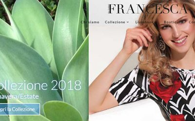 Pubblicazione nuovo sito Francesca by Sottini
