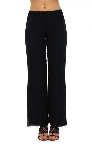 Pantalone doppia georgette