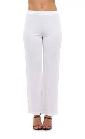 Pantalone jersey viscosa increspata