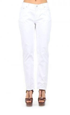 Pantalone jeans 5 tasche tessuto estivo